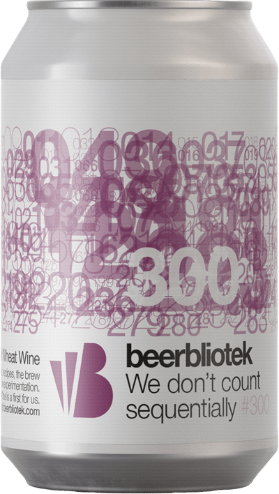 Beerbliotek We don't count sequentially
